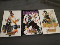 D gray man vol1,2+3 £15