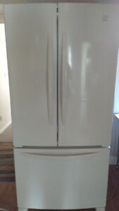 Kenmore 22 Cu. Ft. French Door Refrigerator – White - $790