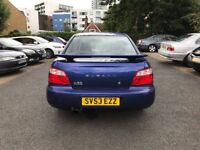 2003 SUBARU IMPREZA 2.0 GX 4WD A/C PARKING SENSORS RCL EW EM SPORTS EXHAUST 65K WARRANTED HPI CLEAR