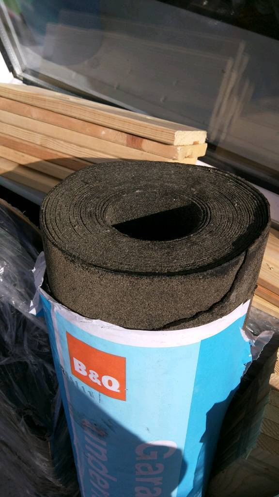 B Amp Q Shed Roofing Replacement Repair Underlay Felt Seal Few
