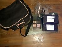 Black Nintendo DSi console with loads of extras!