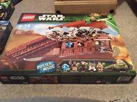 Lego Star Wars Jabbas sail barge 75020 NEW