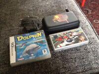 Ds lite & new super Mario & dolphin games