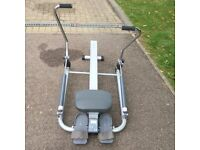 Tesco sculling rower