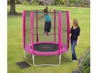 **LAST ONE** Brand NEW Plum 6ft Trampoline and Enclosure Pink New Sealed Box Excess Stock