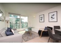 Stunning 2B furnished with private balcony available in ST GEORGE'S WHARF, BRIDGE HOUSE, VAUXHALL