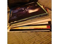Bundle of vinyl lp's