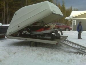 Skidoo package .with trailer