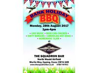 Bank Holiday Monday BBQ & Live Music North Weald Airfield
