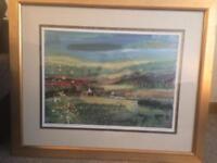 Original framed Hamish MacDonald Art