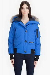 Canada Goose Women Chilliwack Bomber Purplish Blue