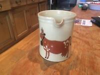 Painted jug