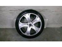 ALLOYS X 4 OF 20 INCH GENUINE RANGEROVER DISCOVERY AUTOBIOGRAPHY FULLY POWDERCOATED INA SHADOWCHROME