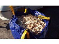 1 tonne bag firewood
