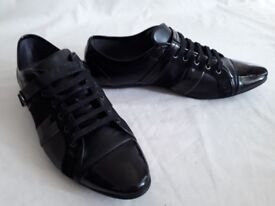 Zara Men's Shoe Black Finish Strap with Buckle