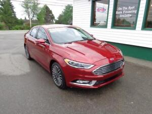 2017 Ford Fusion SE AWD Loaded for only $201 bi-weekly all in!