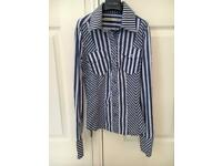 Karen Millen blue shirt size 6
