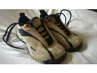 White Gravis trainers, size 3