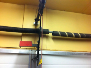 GARAGE DOOR SPRINGS/ CABLES REPAIR 403- 874- 7383