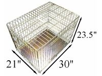 "BRAND NEW GOLD ELLIE-BO DELUXE 30"" MEDIUM COLLAPSIBLE FOLDING PET CAT DOG CAGE CRATE"