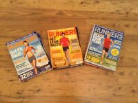 Collection of runners world magazines - free