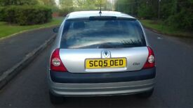 ((LOW MILEAGE)) RENAULT CLIO 1.2 PETROL MOT TILL MAY 2018 EXCELLENT CONDITION DRIVES REALLY WELL