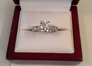 SAVE $12,020 GIA certified! 1.04ct, SI1, H Brand New Condition!