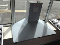 90cm stainless steel cooker hood. 12 month gtee
