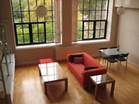 Large 1 Bed/Studio Furnished in Converted Warehouse 2min walk to Wapping Overground