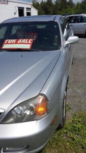 2006 Chevrolet Epica LE Sedan / CERTIFIED & E- TESTED / $4000.00