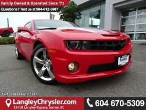 2010 Chevrolet Camaro SS SS 6.2L V8 w/ LEATHER INTERIOR & SUN...