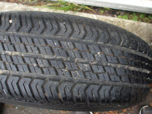 4 tires and rims good condition