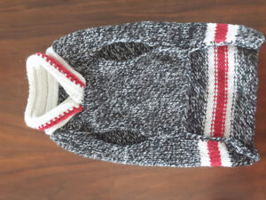 Wool dog sweater for small dog 10-18 lbs