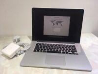 """Apple MacBook Pro Retina 15.4"""" Mid-2015 2.8GHz i7 512GB SSD 16GB RAM R9 M370X"""