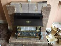 1940s gas fire original house fire place