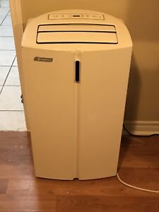 portable air conditioner/fan/heater/dehumidifier, 12,00 BTUs.
