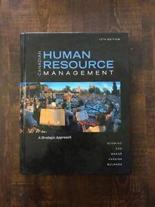 Fanshawe College Human Resources Management HR Books