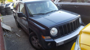 Jeep Patriot 2010 limited cuir beige leather