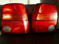 Lupo rear lights