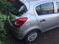 Corsa D steel wheels with tyres and wheel trims