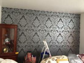 Painting, decorating and wallpapering