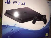 Playstation 4 jet black 500g
