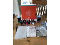 Fantastic Gel Nails shellac starter kit worth over £200