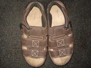 Men's Size 11 Leather Sandals