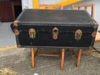 ** OLD TRAVEL TRUNK **
