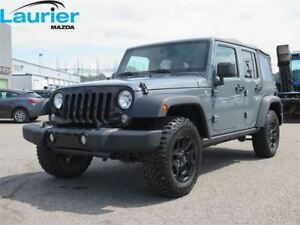 2015 Jeep WRANGLER UNLIMITED WILLYS 4X4 2 TOITS