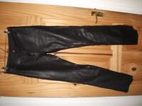 Hein Gericke Ladies Leather Trousers Size 38