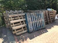 Wooden pallets NOW ALL GONE THANK YOU