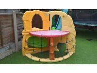 Little Tikes Jungle Climber / climbing frame with slide