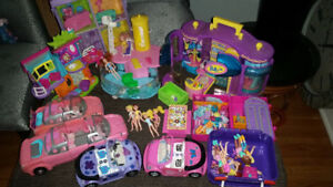 Polly Pocket - 1989 to 1995 and other collectibles